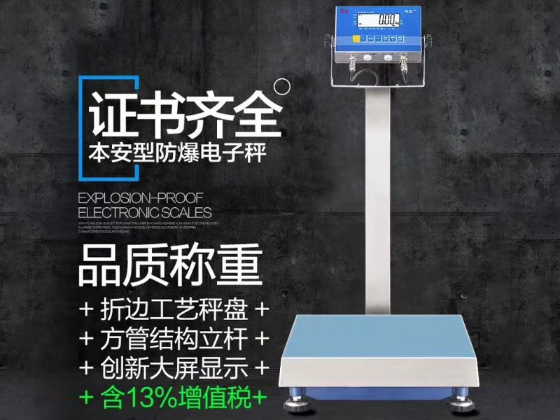 Explosion-proof electronic platform scale